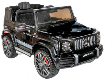 Mercedes Benz G63 AMG Jeep G Wagon Official Licensed 12v Electric Black Ride on Car